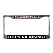 Biking License Plate Frame