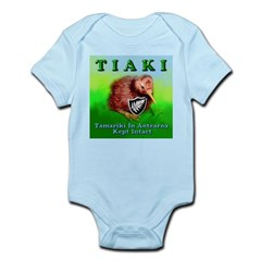 TIAKI-kiwi Infant Bodysuit