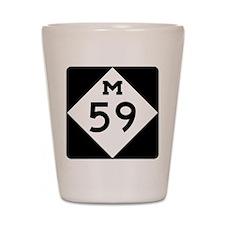 M59 Shot Glass
