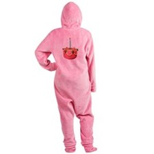 Pink Cake Footed Pajamas