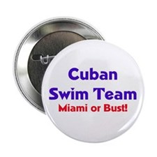 Cuban Swim Team Button