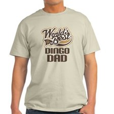 Dingo Dad Dog Gift T-Shirt