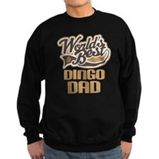 Dingo Dad Dog Gift Sweatshirt