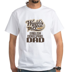 English Cocker Spaniel Dad White T-Shirt