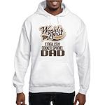 English Cocker Spaniel Dad Hooded Sweatshirt