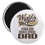 English Cocker Spaniel Dad Magnet