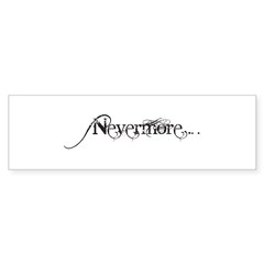 Nevermore Poe Sticker (Bumper 10 pk)