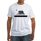 California Flag Black and Grey Shirt