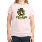 China Lake SpecOps Women's Pink T-Shirt