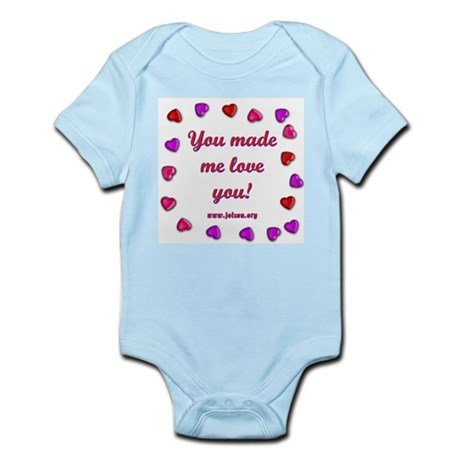Love You Infant Creeper