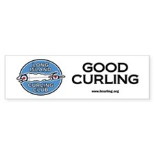Long Island Curling Club Bumper Sticker