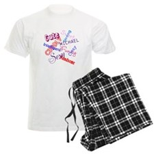 "Personalised Men's Pyjamas ""Cute"""