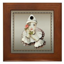 Harlequin # 1 Framed Tile