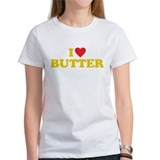 I love butter Ash Grey T-Shirt T-Shirt