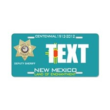 New Mexico Deputy Sheriff Custom License Plate
