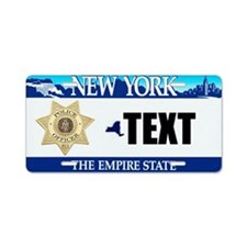 New York Police Officer Custom License Plate
