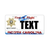 North Carolina Deputy Sheriff Custom License Plate