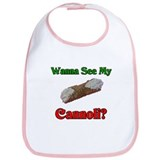Wanna See My Cannoli? Bib