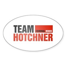 Team Hotchner Oval Decal