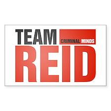 Team Reid Rectangle Decal