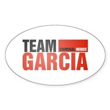 Team Garcia Oval Decal