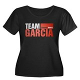 Team Garcia Women's Dark Plus Size Scoop Neck T-Sh