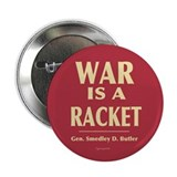 "War Is A Racket 2.25"" Button (100 pack)"
