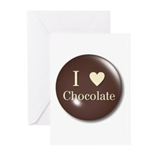 I Love Chocolate Greeting Cards (Pk of 10)