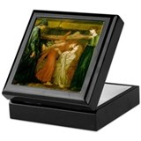 Dantes Dream by Rossetti Keepsake Box