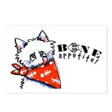 Kitty Bone Appetit Pet Foods Postcards (Package of