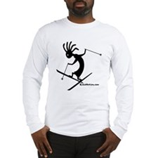 Kokopelli Extreme Skier Long Sleeve T-Shirt
