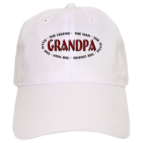 Grandpa - The Legend Cap
