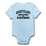 Rhode Island Rocks Infant Bodysuit