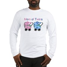 Mom of Twins (Girl & Boy) Long Sleeve T-Shirt