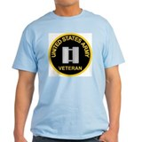 Captain Army Veteran Tee Shirt T-Shirt
