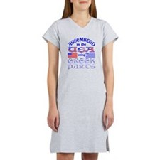 USA / Greek Parts Women's Nightshirt