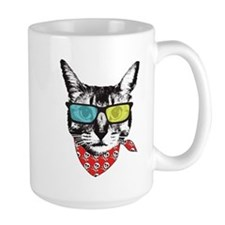 Cat with sunglass Mug