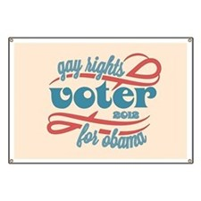 Gay Rights Voter Banner