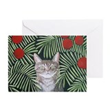 """Rousseau's Dream Cat"" Greeting Cards (Pk of 20)"