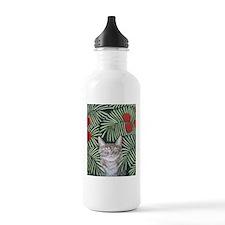 """""""Rousseau's Dream Cat"""" Water Bottle"""