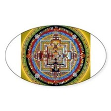 Kalachakra Rectangle Decal