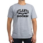 Atlanta Rocks Men's Fitted T-Shirt (dark)