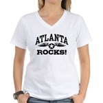 Atlanta Rocks Women's V-Neck T-Shirt