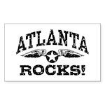 Atlanta Rocks Sticker (Rectangle)