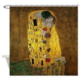 Gustav Klimt The Kiss Shower Curtain