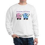 Grandma of Twins (Girl & Boy) Sweatshirt