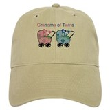 Grandma of Twins (Girl & Boy) Baseball Cap