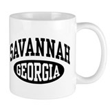 Savannah Georgia Small Mug
