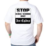 Stop Global Warming Golf Shirt