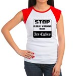 Stop Global Warming Women's Cap Sleeve T-Shirt